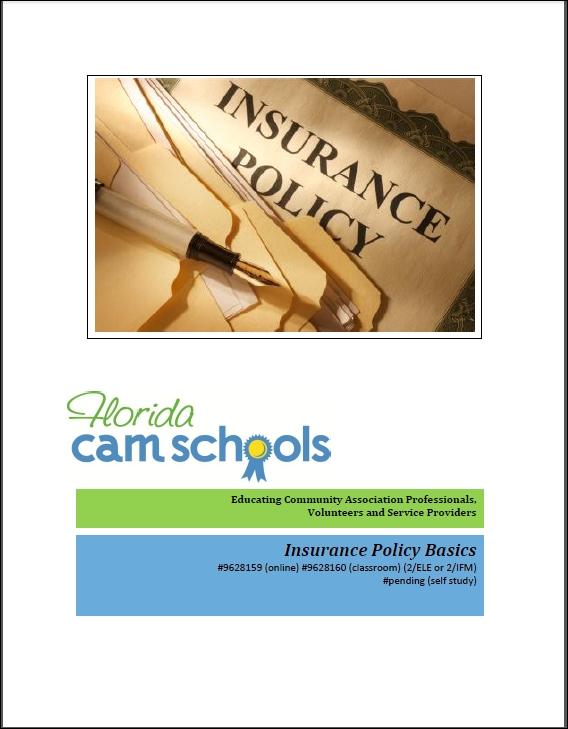 Insurance Policy Basics